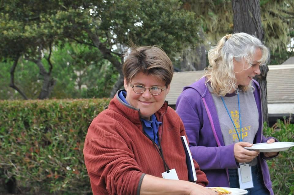 Barbara Tannanbaum and Gina Oschner Take Time To Eat