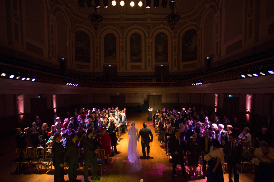 Ulster Hall Wedding