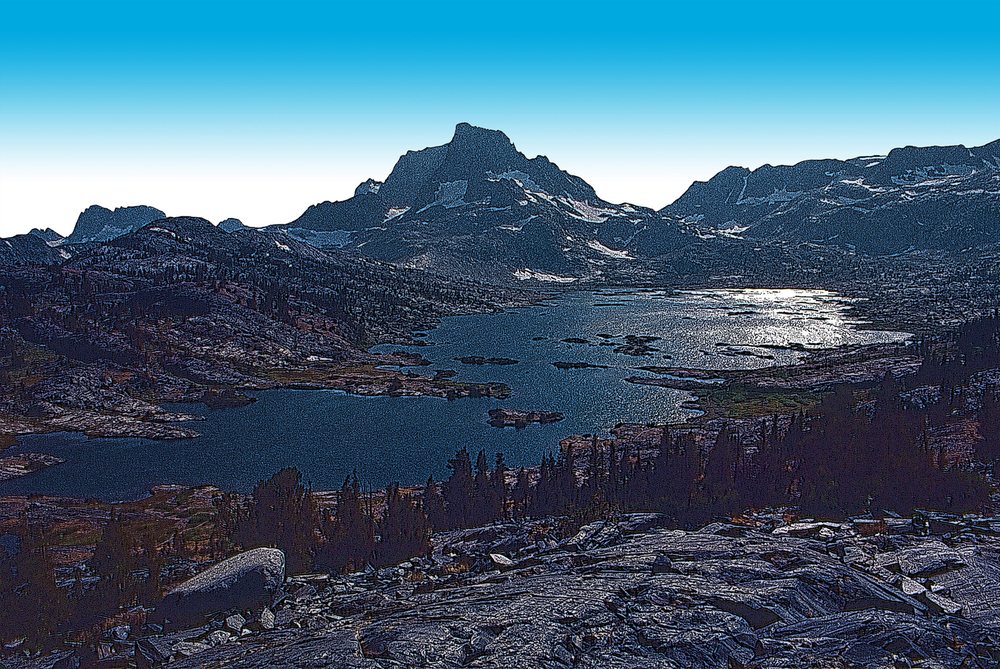 1,000 Island Lake