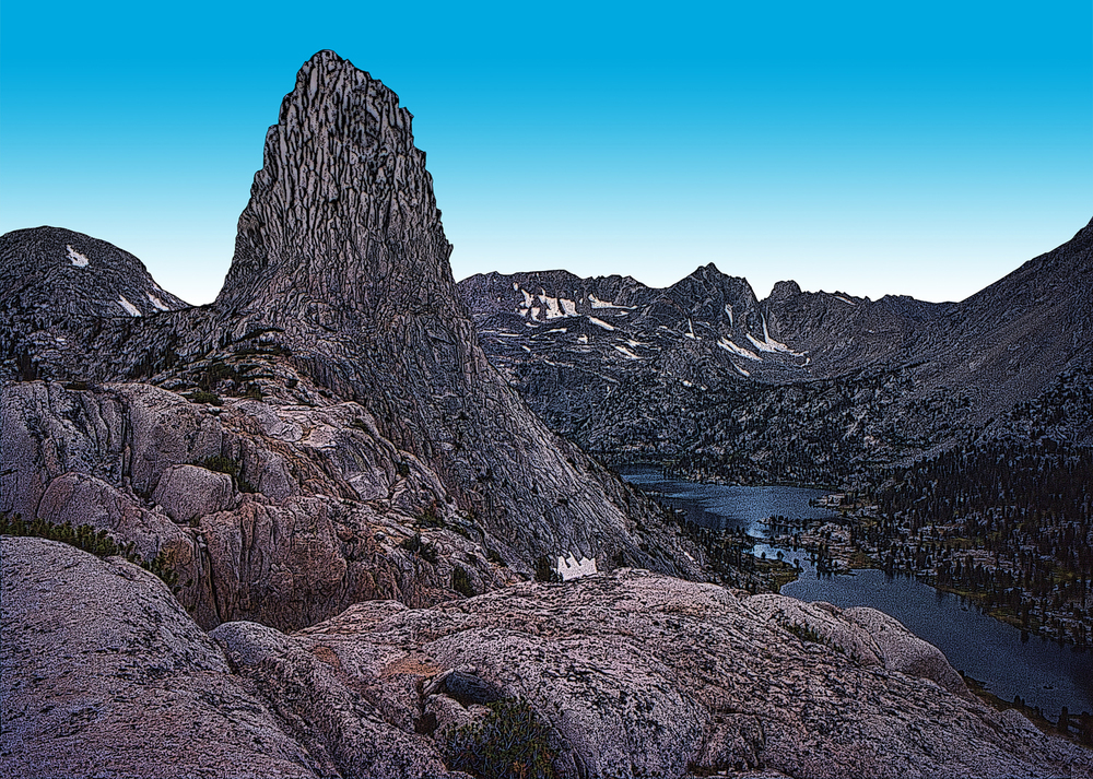 Fin Dome Ridge