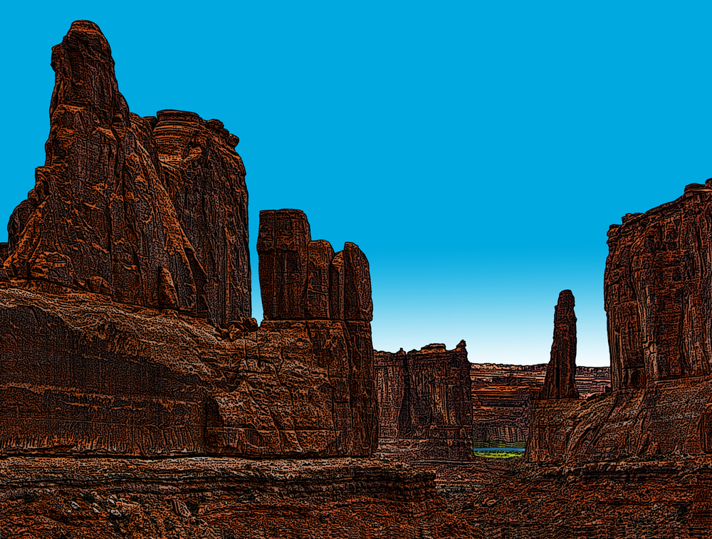 Park Avenue • Arches National Park