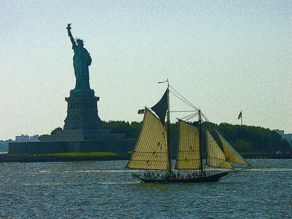 Sailing to Liberty