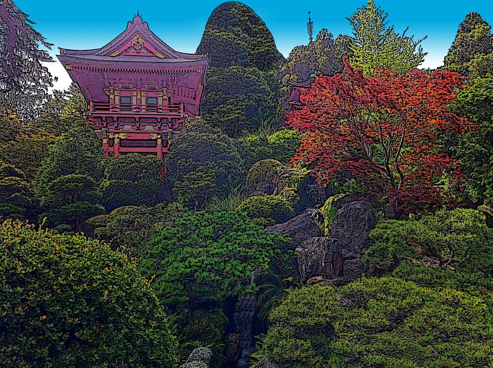 Temple • Japanese Garden