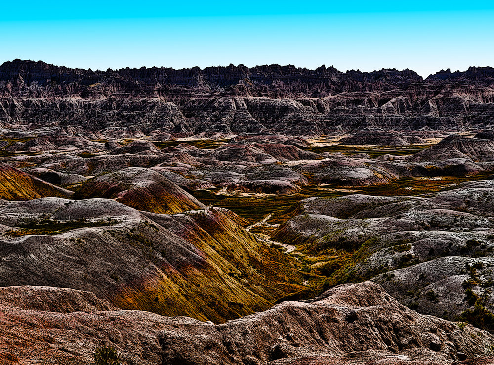 Badlands Vista • South Dakota