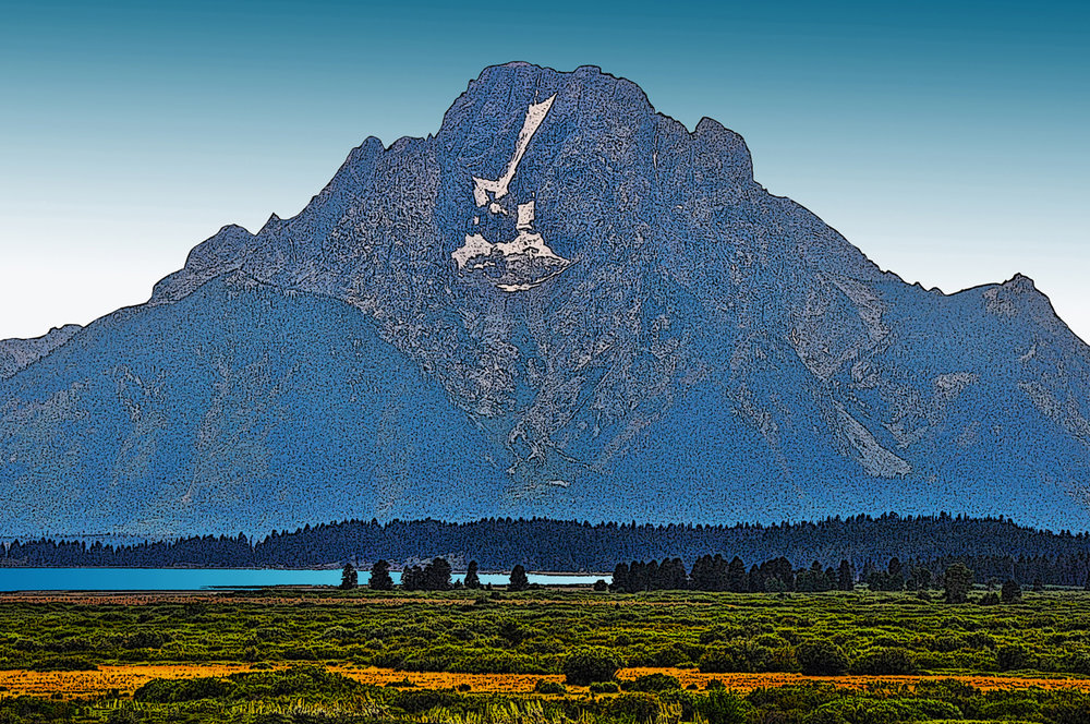 Mount Moran - Grand Teton National Park