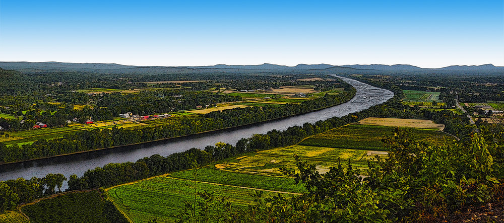 Pioneer Valley and Connecticut River - Hadley MA
