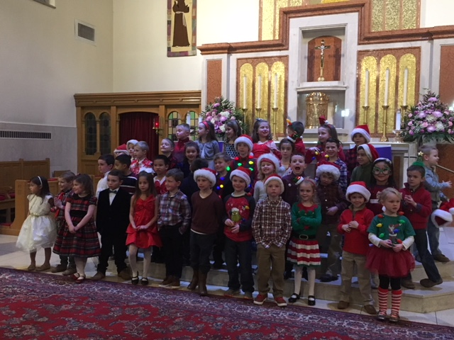 WHAT A BEAUTIFUL CHRISTMAS SHOW WE HAD LAST NIGHT!!  THE CHILDREN WORKED SO HARD TO PREPARE FOR THIS SPECIAL NIGHT AND THEY DID A WONDERFUL JOB!!  I AM SO PROUD OF ALL OF THEM!    I WISH ALL OF OUR KINDERGARTEN FAMILIES A VERY MERRY CHRISTMAS!!  SEE YOU IN THE NEW YEAR!