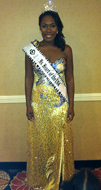 A big thanks to Couture House Rentals for preparing me for my pageant. I went home a winner in this gorgeous gown!