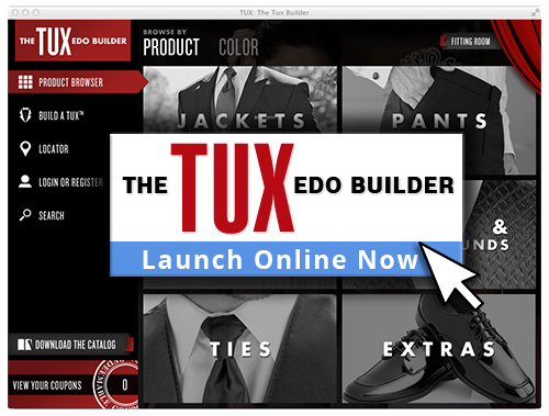 Tuxedos couture house for Tux builder