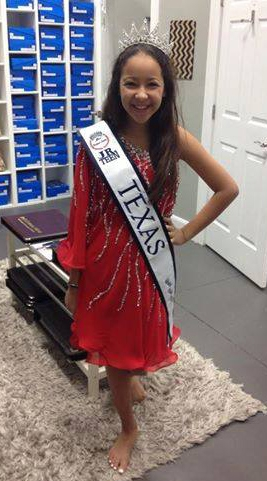 Thank you again Couture House for dressing me beautifully!  –Madison Pallanez, 2015 Miss Jr. Teen Texas United States