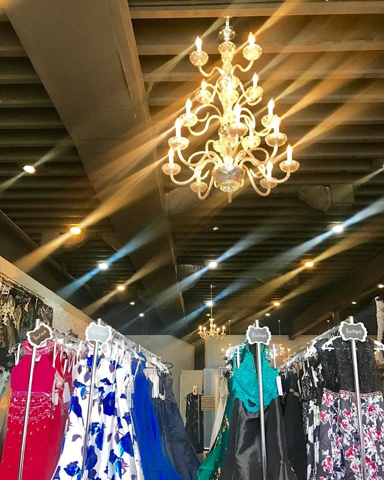 Walk-ins are welcome to shop our boutique collections (for purchase) or book tux rentals.  Appointments required for all dress rentals.