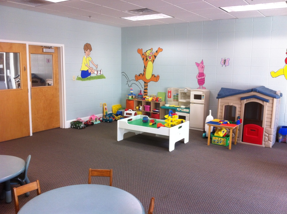 Our nursery provides a safe, fun place for children