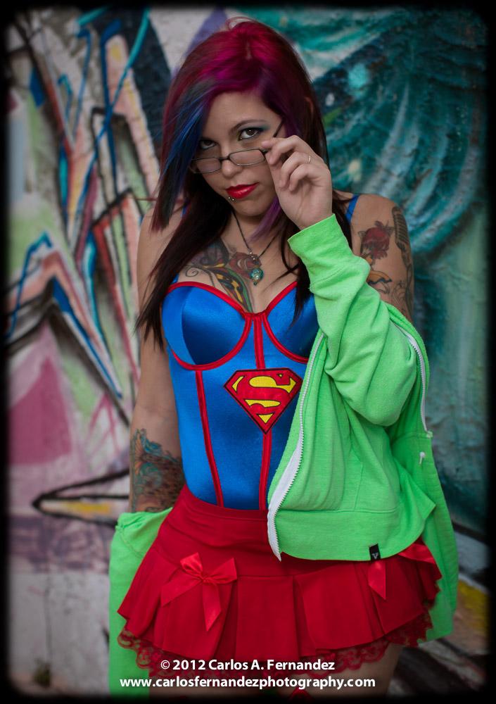 Jessicuh Art, a.k.a. Supergirl...