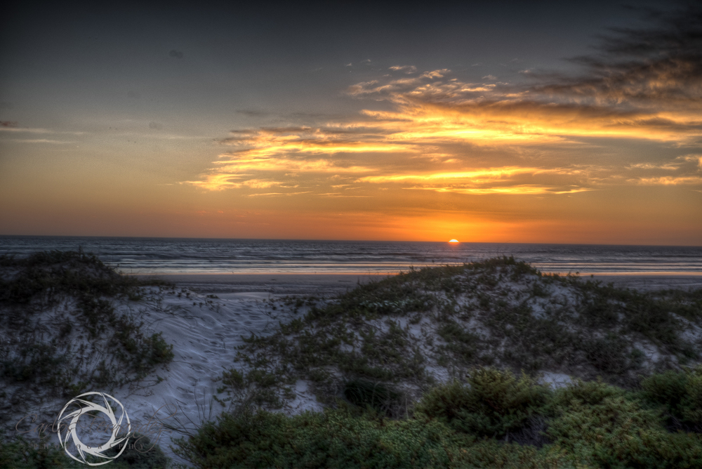 Cape Town Sun Setting on Melkbos Beach, My 365 Project 116/365