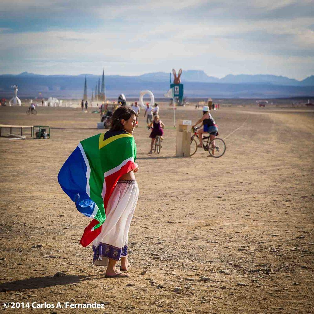 Daytime on the Playa at 2014 Afrikaburn - 123/365