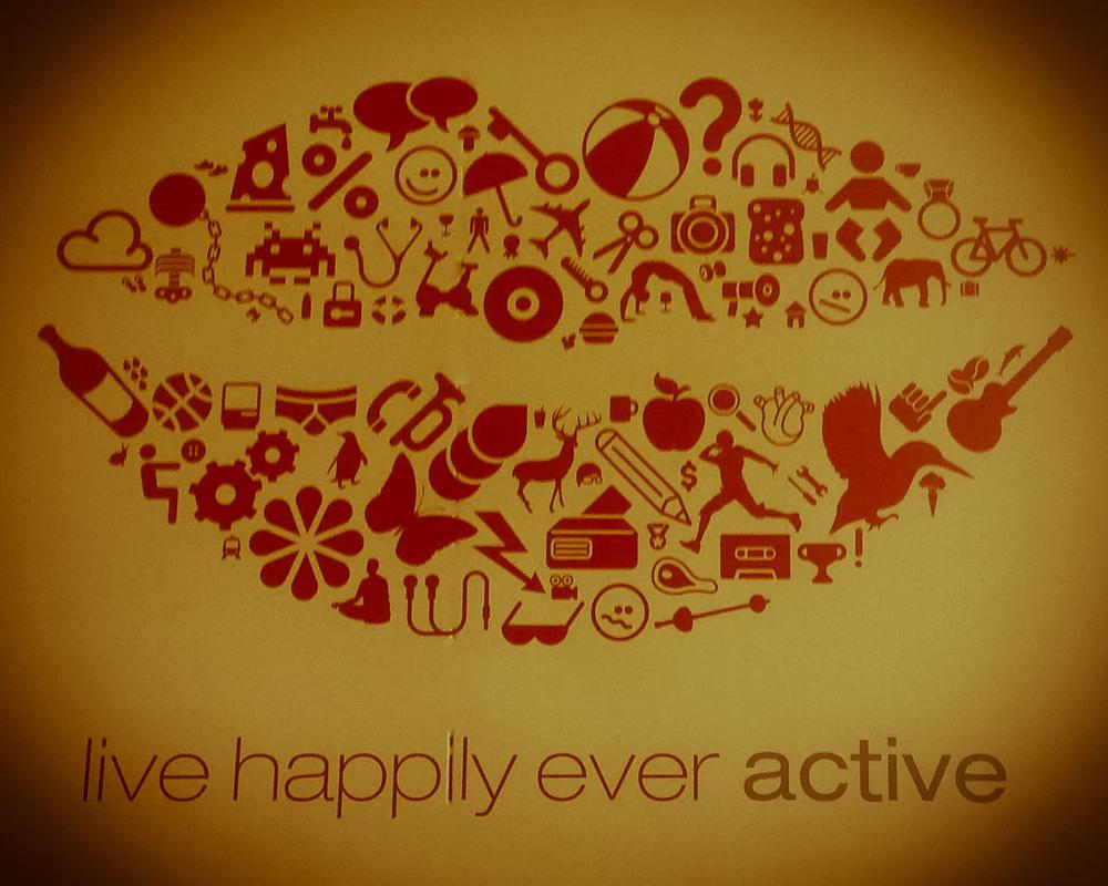 The Virgin Active Health Club Motto - 134/365