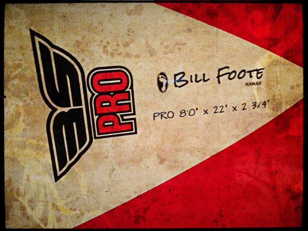 My Bill Foote Designed Surfboard - 139/365