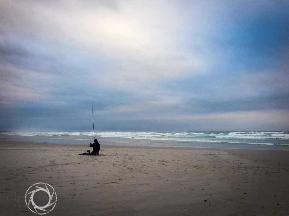 Surf Fisherman on Cape Town Beach - 151/365