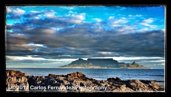 Table Mountain from Blaauwberg Rocks - 189/365
