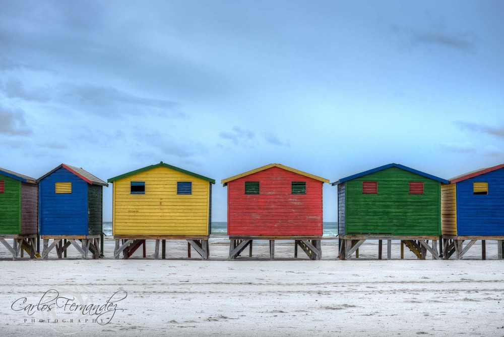 The Colorful Muizenberg Cabanas - 207/365