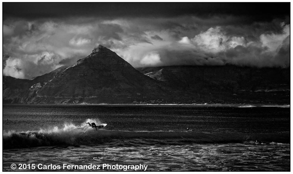 Surfer, Long Beach, Cape Town, South Africa
