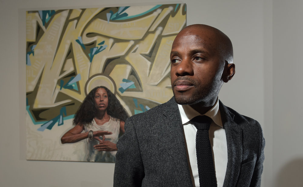 Dexter Wimberly, executive director and curator of Aljira, a Center for Contemporary Art in Newark, New Jersey.