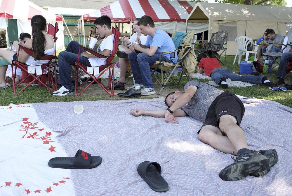 070218 Miller Family Hoedown at Folk Fest a179.JPG