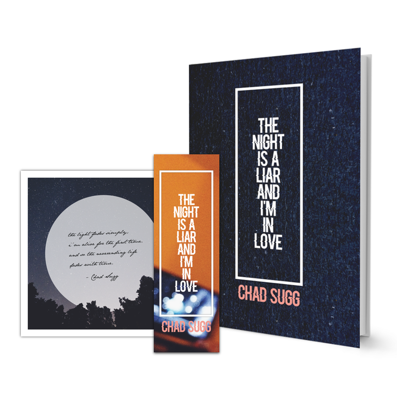 Deluxe Package [Limited Edition of 10] Includes: First Edition Book, Limited Edition Square Print w/ Hand Written Quote, Limited Edition Bookmark $19.99