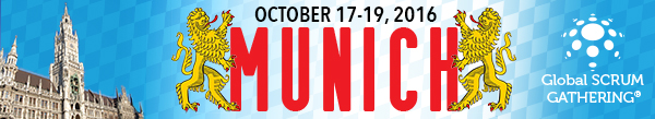 Global Scrum Gathering® 17-19 October 2016 Munich