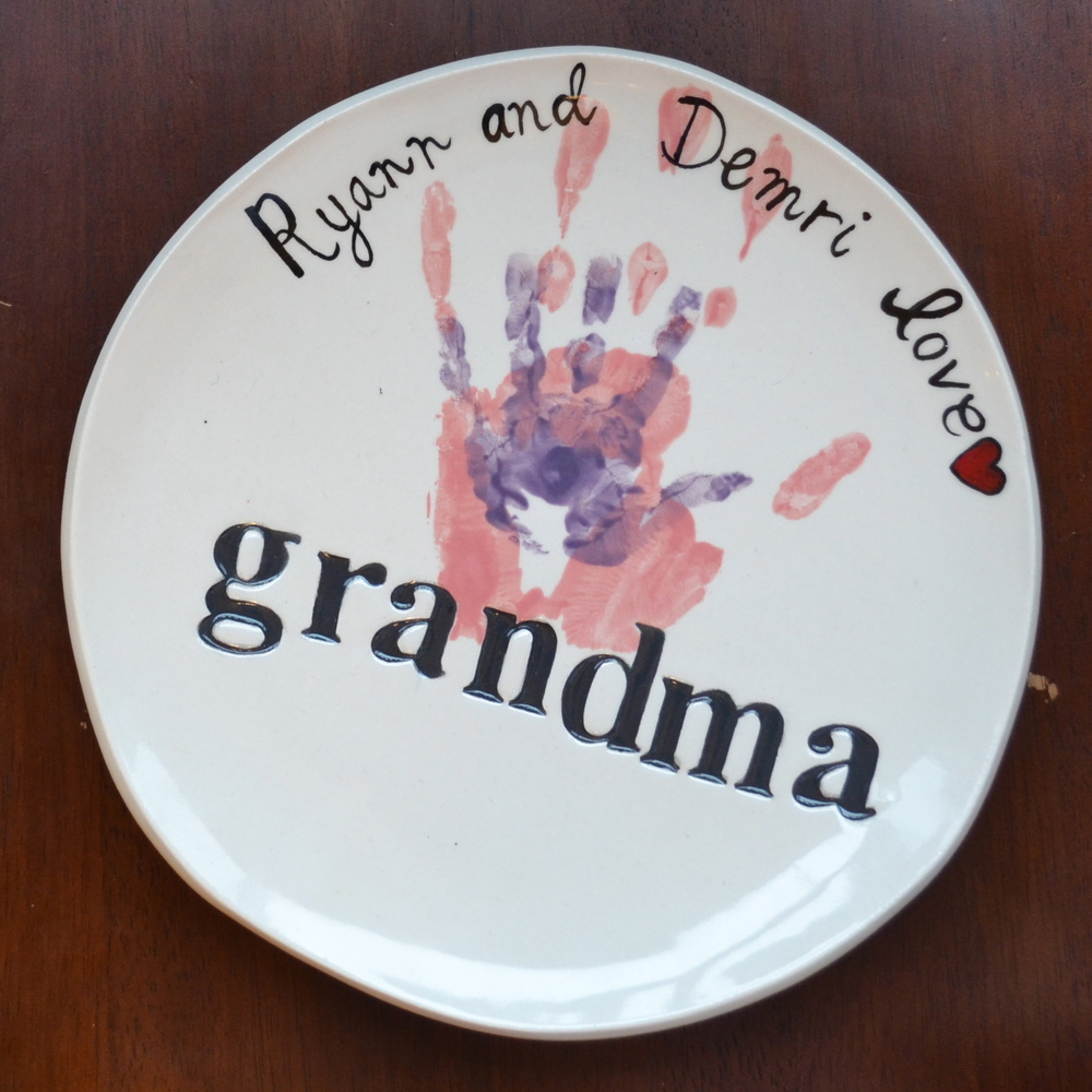 Grandma Barbara's plate!