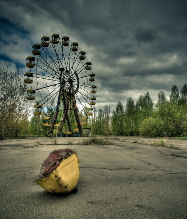 Results of the nuclear disaster in Chernobyl, Ukraine