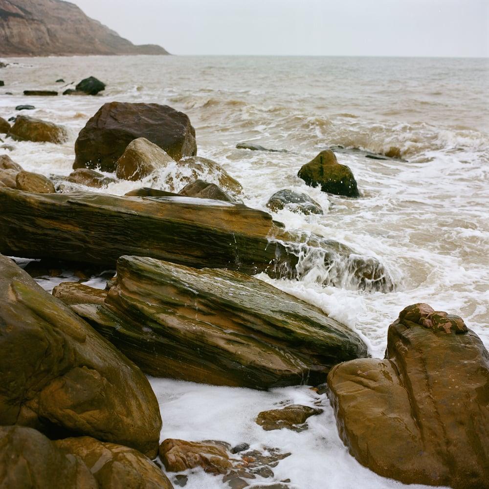 Landscape photo of a coast of Hastings UK