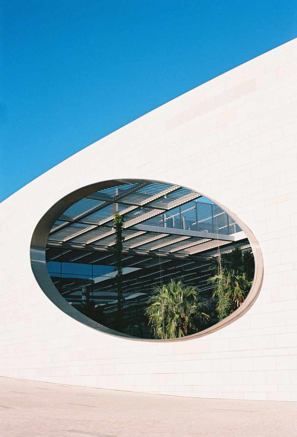 2016 Lisbon Architecture. Kodak Portra 400 35mm Film. Champalimaud Centre for the Unknown