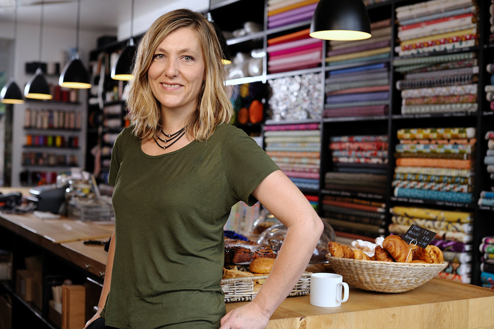 Creator and owner of Ray Stitch, a Haberdashery Brand in Islington, London