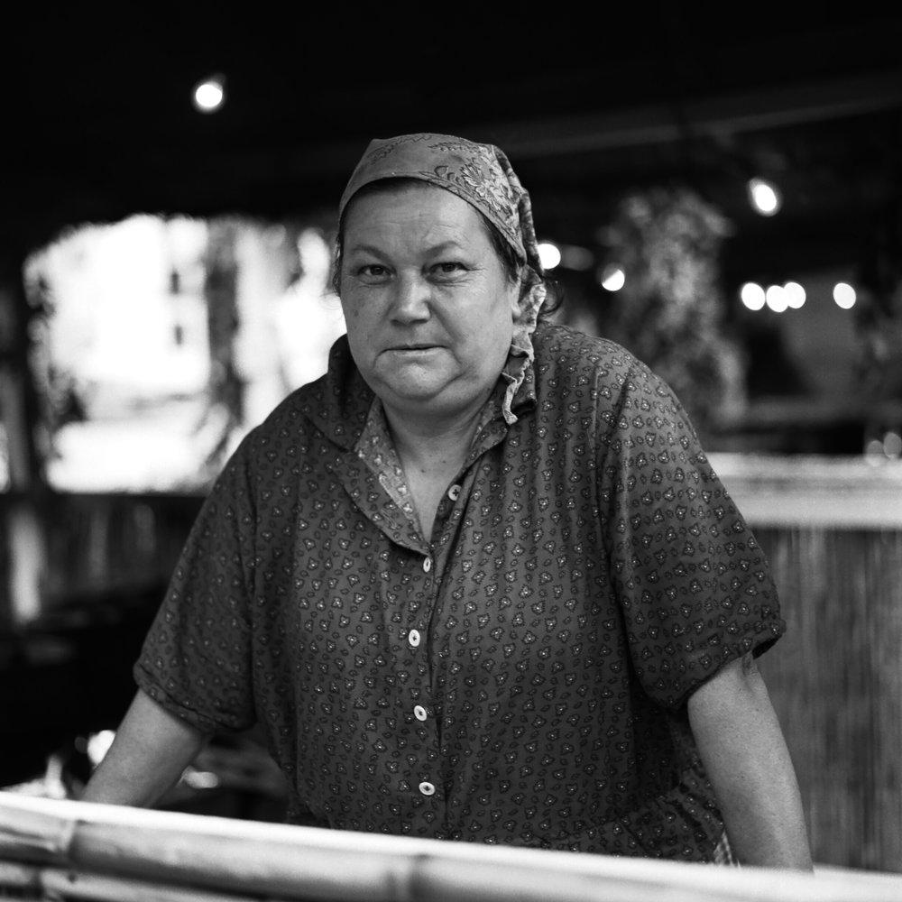 Portrait of a Lady from Madeira's Farm Community by Dan Korkelia