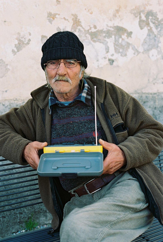 Portrait of Italian Trader by Dan Korkelia