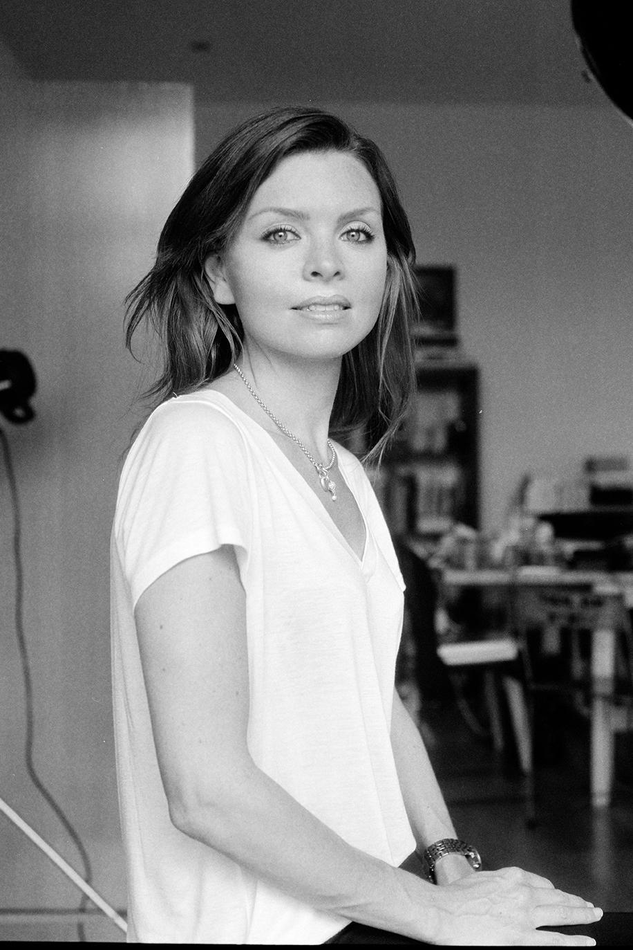 Portrait of Brand Owner Nicola Fiveash in a studio