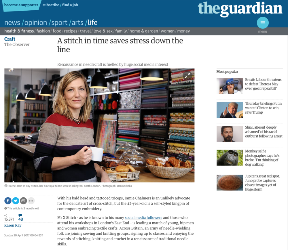 The Guardian Observer Article features photography by Dan Korkelia