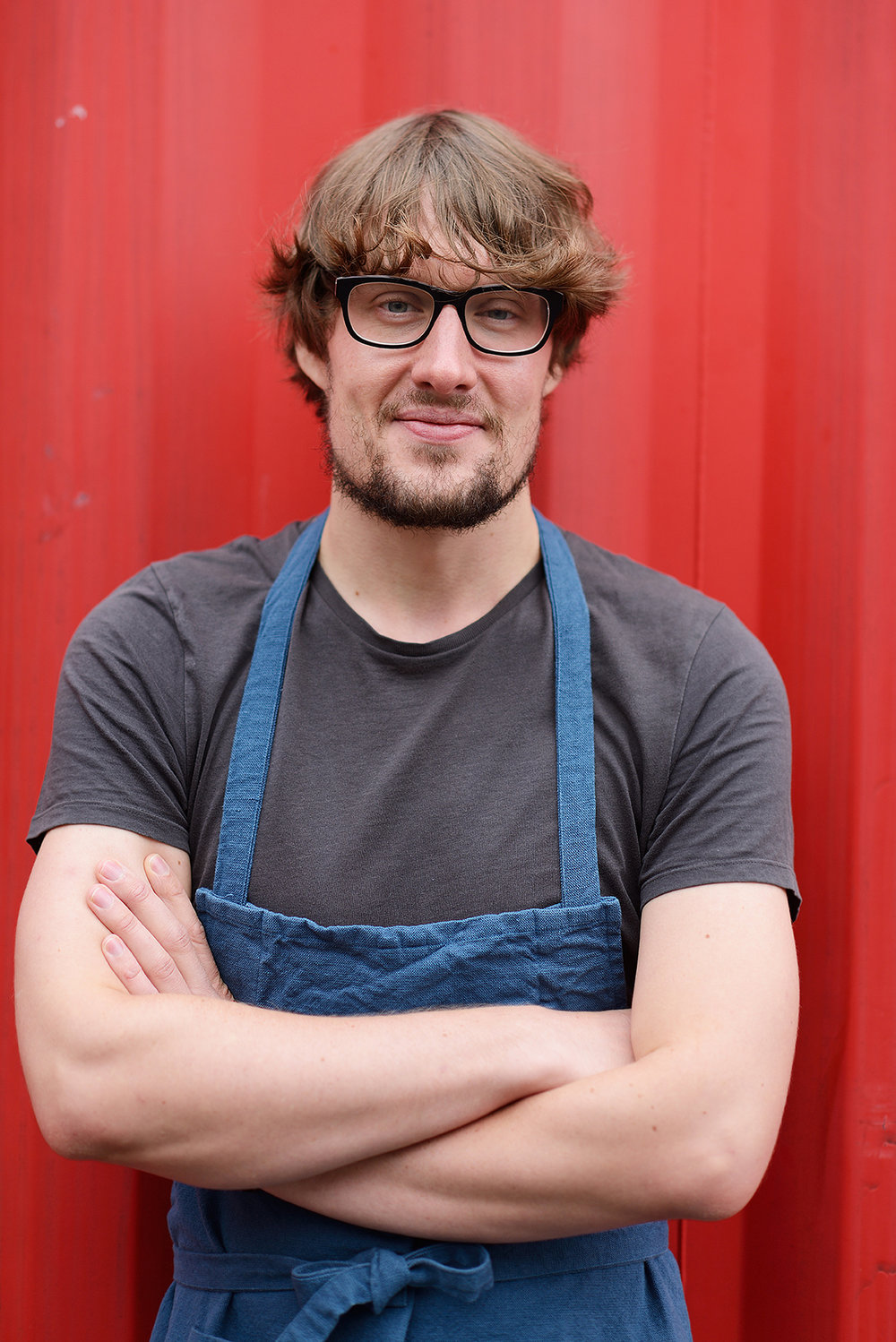 Portrait of a Blogger and Chef Sam Richards
