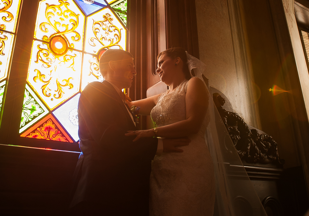 Dr Who Wedding Photos, Macon, GA Hay House window