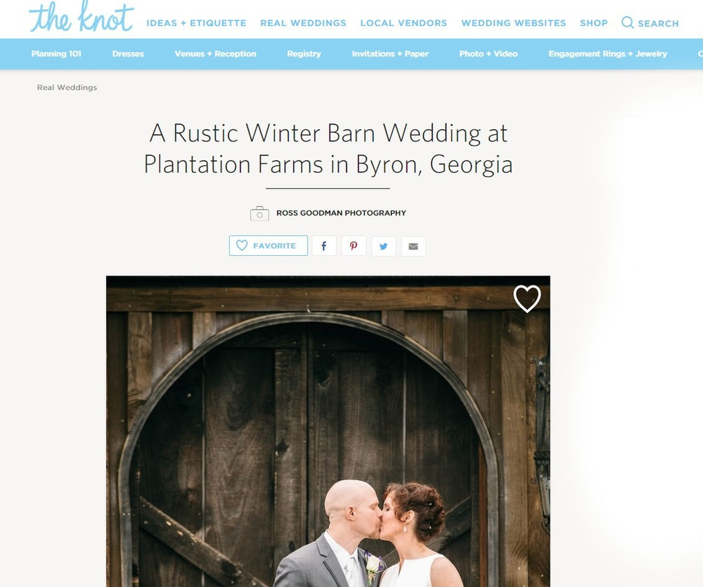 plantation farms wedding on the knot