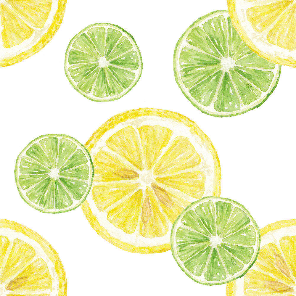 Lemon and Lime Pattern