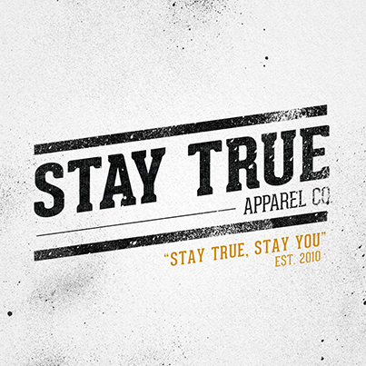 The Stay True Company is a Chicago based brand to help find the inner being by expressing positive ideas and concepts through art and clothing. Est 2010.