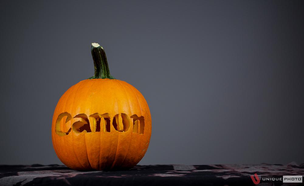 Canon pumpkin by Dan Schenker