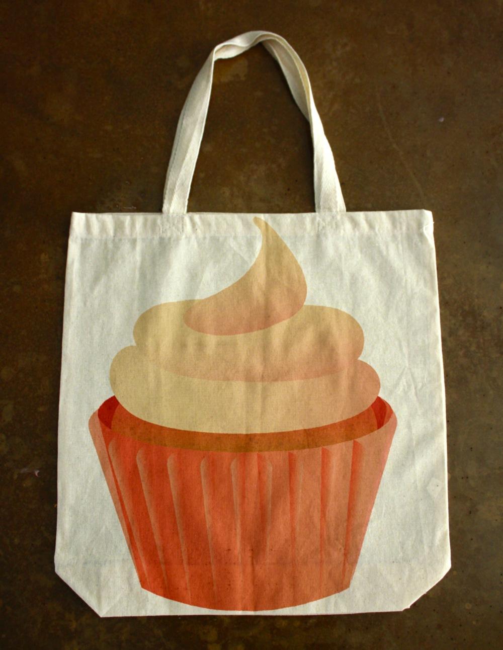 Tote: Cupcake