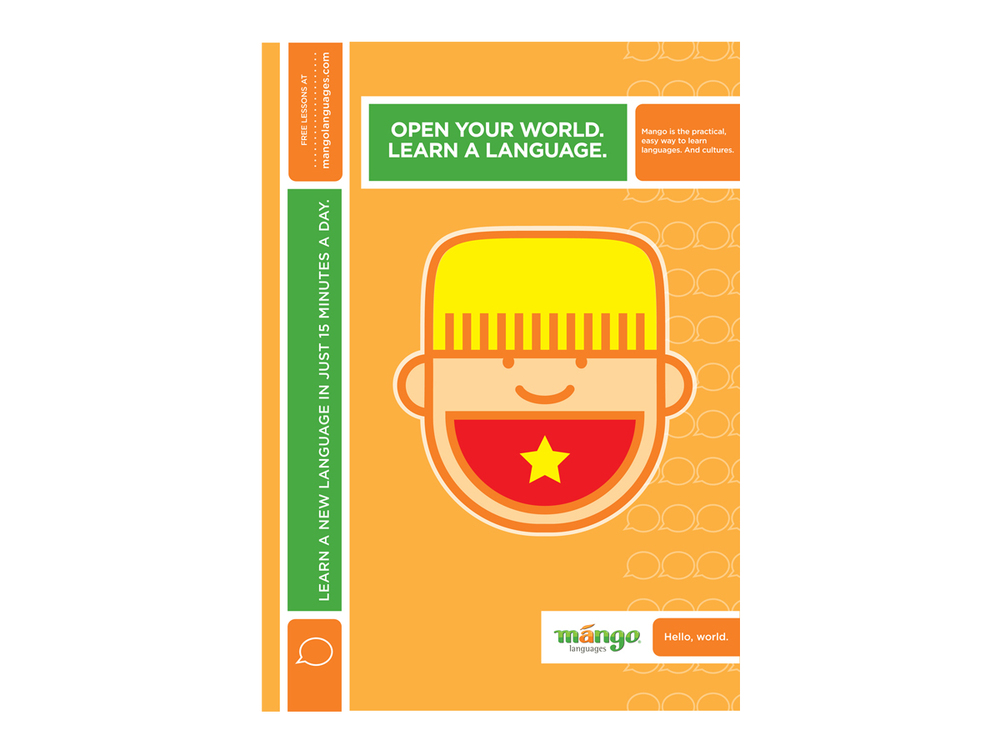 Mango Languages advertising