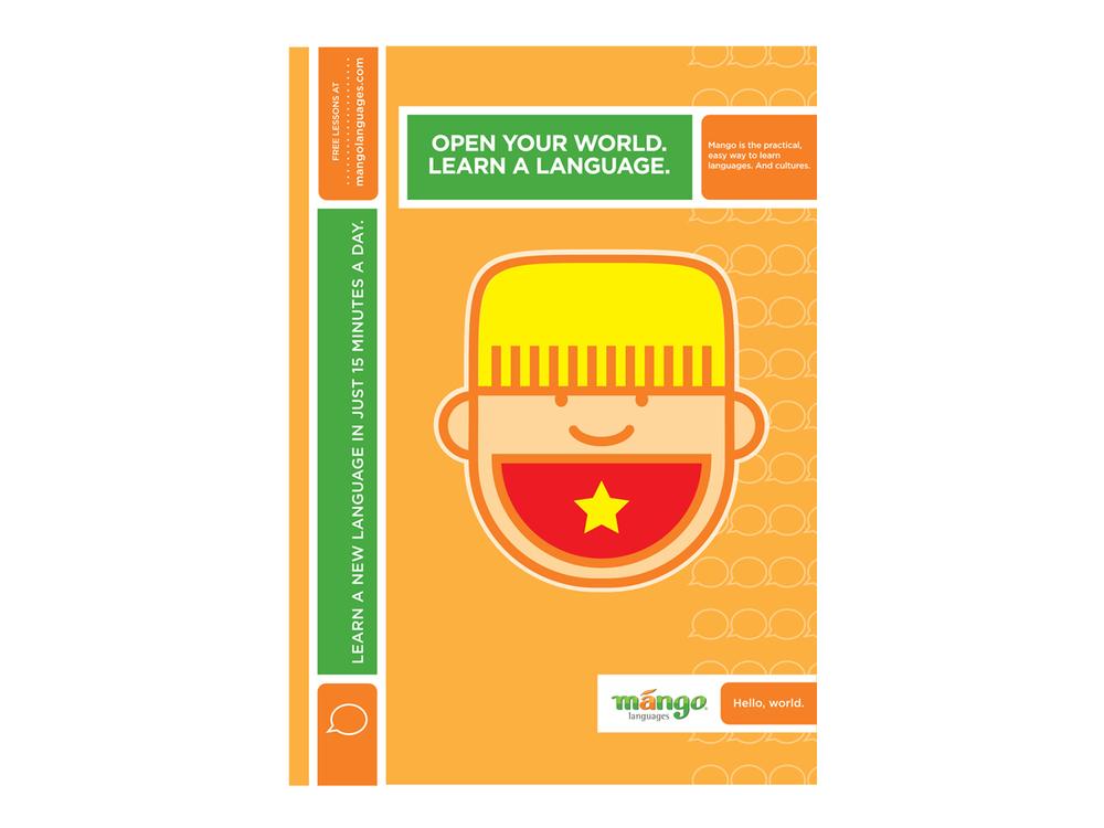 Mango Languages advertising