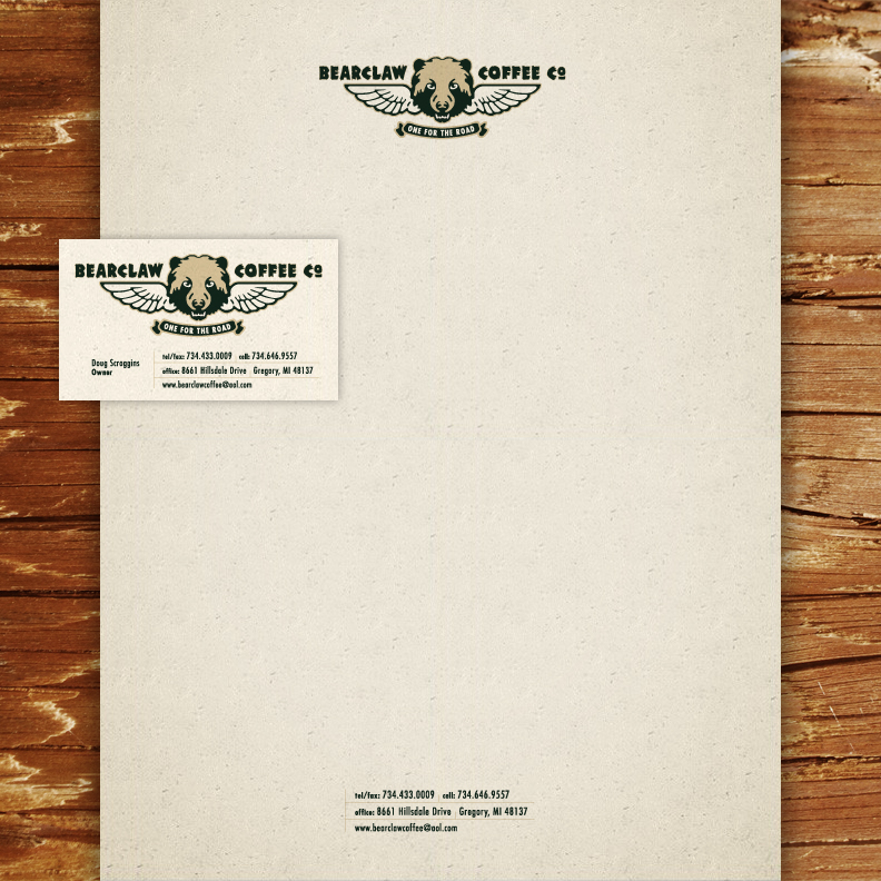 Bearclaw Coffee Company business papers