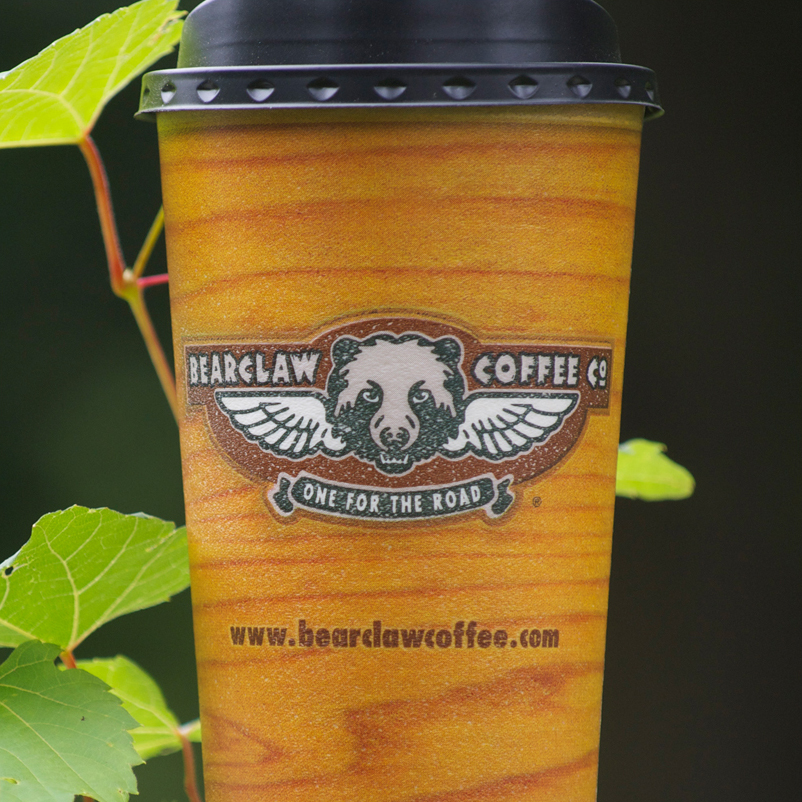 Bearclaw Coffee Company cup