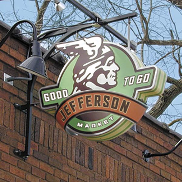 Jefferson Market signage